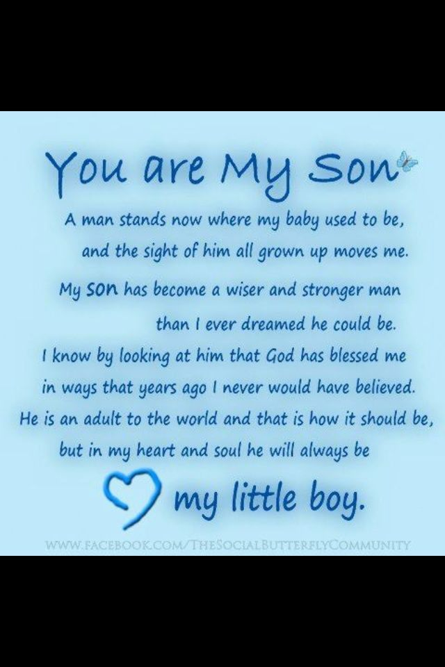 18th birthday poem for son from mother ; 958ce4b939d906777f335eee5e962d60