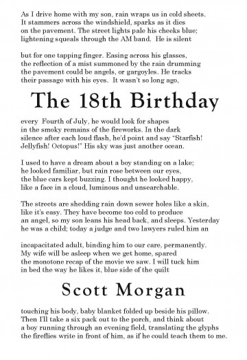 18th birthday poem for son from mother ; Morgan-360x523