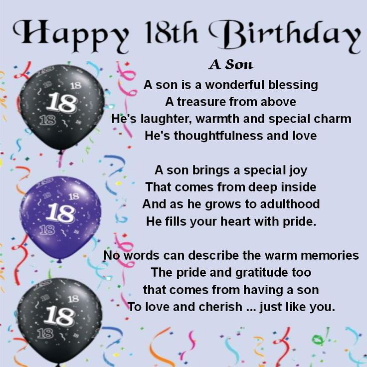 18th birthday poem for son from mother ; bb8c5c7e127a9cc3fcd973ff02cba04a