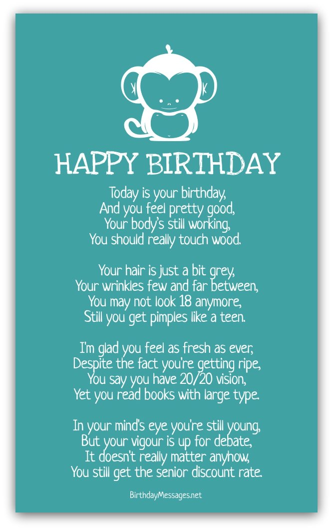 18th birthday poem for son from mother ; funny-birthday-poems4A