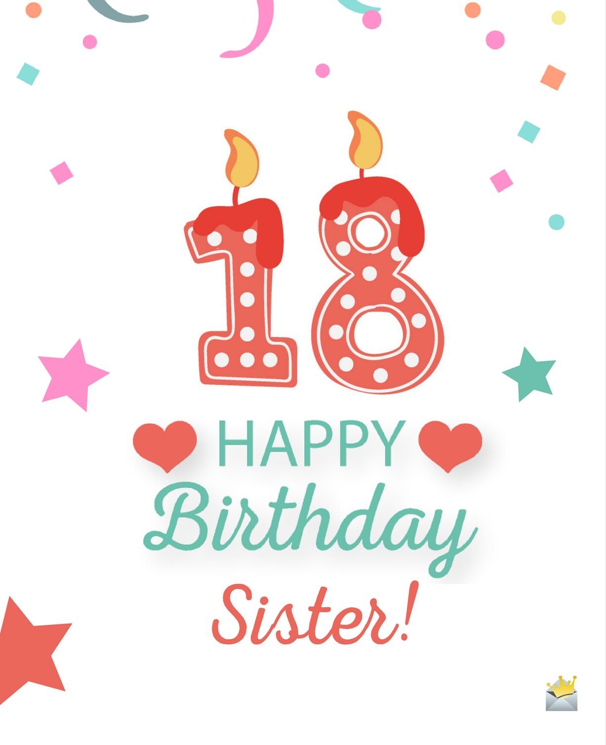 18th birthday welcome message ; Happy-18th-Birthday-Sister