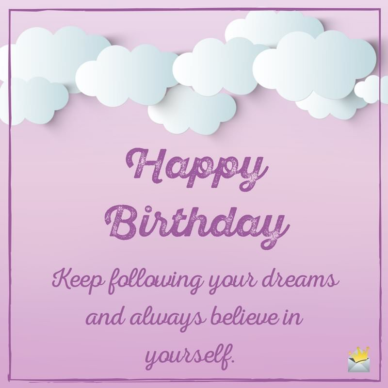 18th birthday welcome message ; Happy-Birthday-inspirational-and-encouraging-wish-for-sister