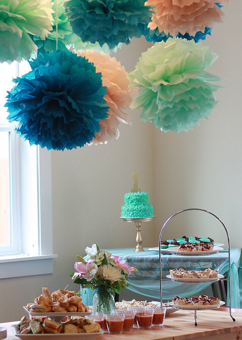 1st birthday color schemes ; s-olivia-2527s-first-birthday-party-8