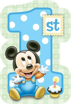 1st birthday images clip art ; 7f4db6ebf85d5248efae4709ac371663--mickey-st-birthdays-mickey-mouse-st-birthday