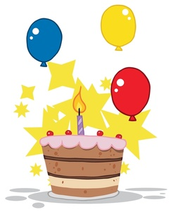 1st birthday images clip art ; babys_first_birthday_cake_0521-1004-3015-0723_SMU