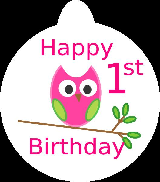 1st birthday images clip art ; generic-1st-birthday
