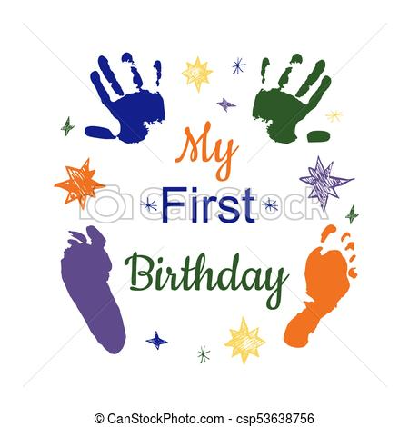 1st birthday images clip art ; my-first-birthday-clipart-vector_csp53638756