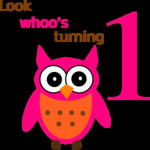 1st birthday images clip art ; owl-1st-birthday-md