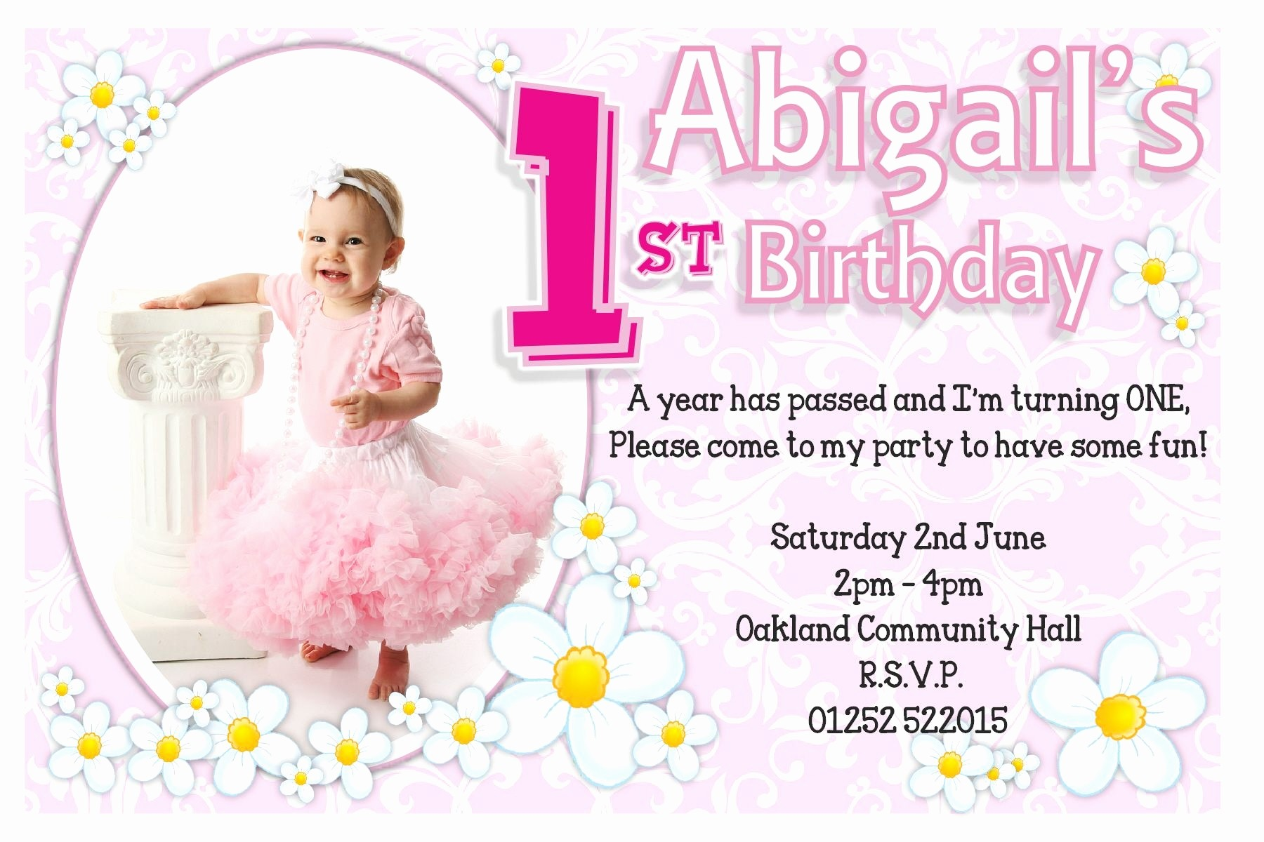 1st birthday invitation cards for daughter ; invitation-for-birthday-of-daughter-best-birthday-card-for-my-daughter-new-1st-birthday-invitations-girl-of-invitation-for-birthday-of-daughter