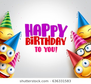 1st happy birthday flex designs ; smileys-vector-background-happy-birthday-260nw-636331583