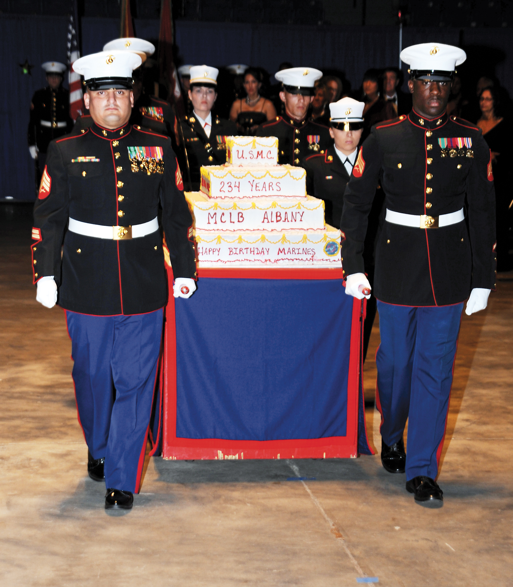 2018 marine corps birthday message ; Ball1