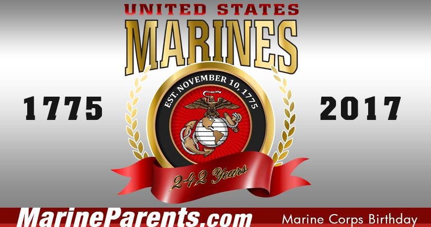 2018 marine corps birthday message ; bdayweb
