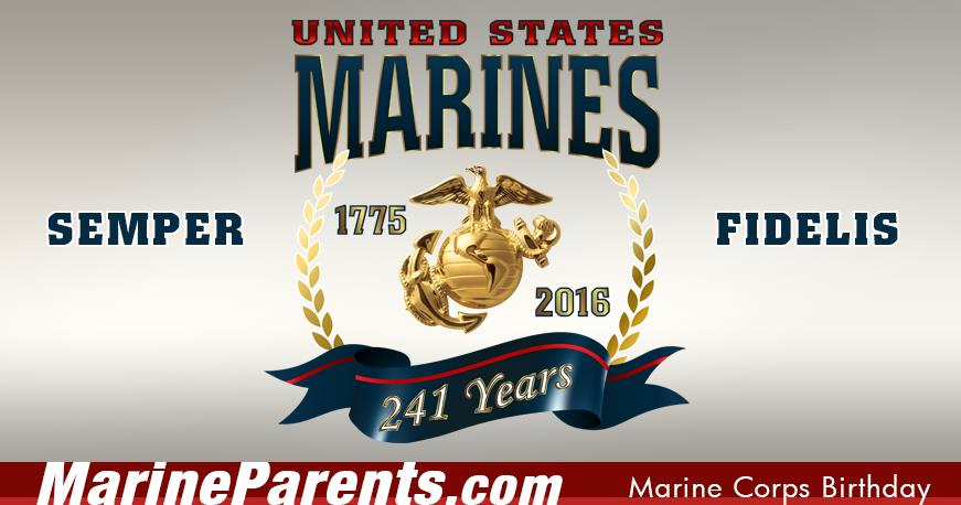 2018 marine corps birthday message ; mpfb-mcbday2016