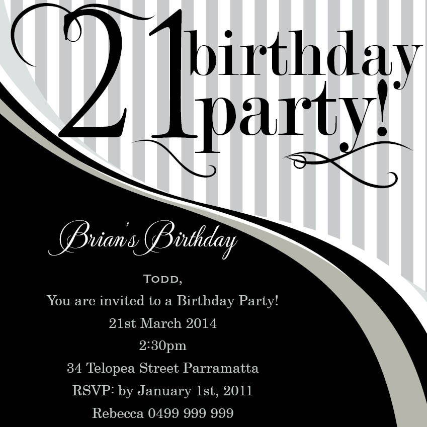 21st birthday card templates free ; Appealing-21St-Birthday-Invitations-Which-Can-Be-Used-As-Free-Printable-Birthday-Party-Invitations