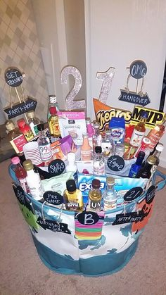 21st birthday photo gifts ; eb0925be7f146d7dbc49a048b201f67b--st-birthday-basket-boy-st-birthday-gift