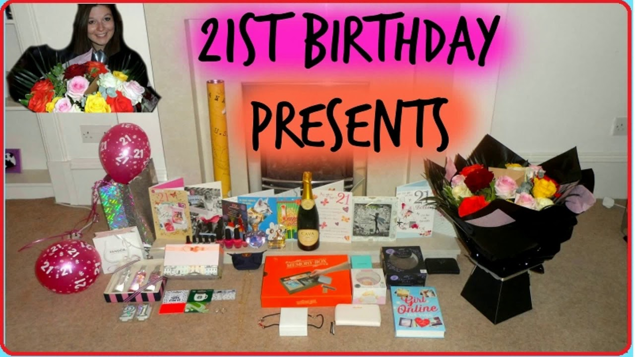 21st birthday photo gifts ; maxresdefault