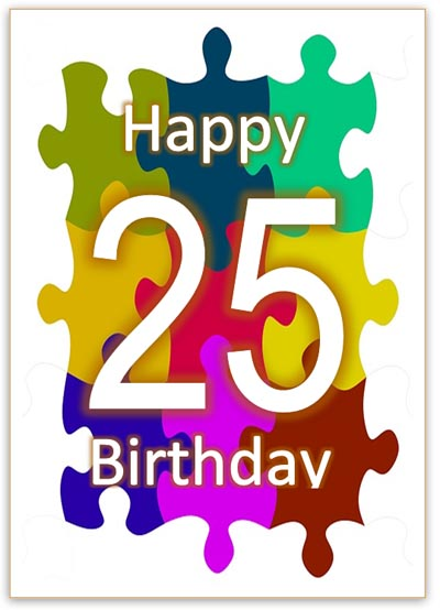 25th birthday card ; 25-birthday-card-25th-birthday-card-for-print