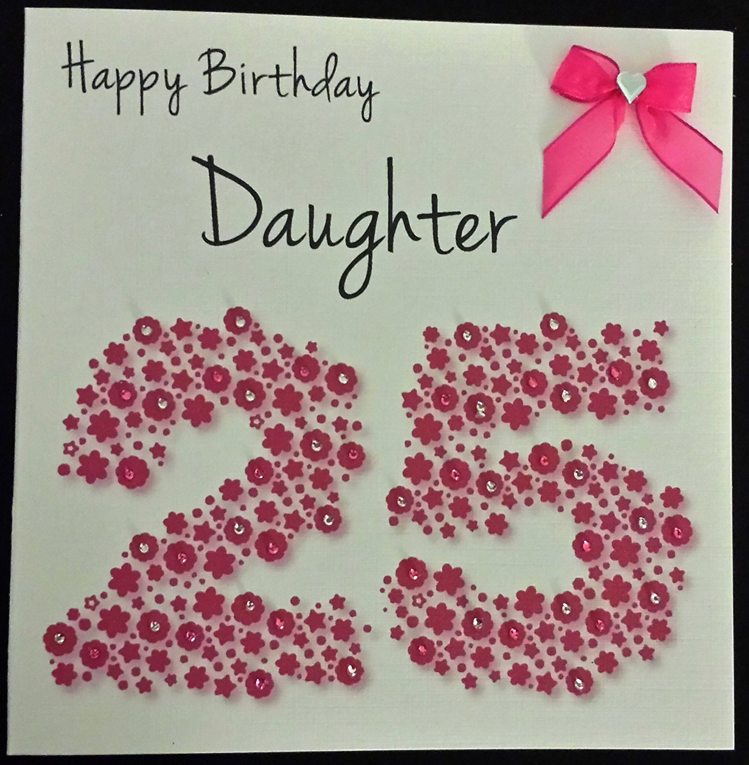 25th birthday greeting cards ; 25th-birthday-cards-awesome-happy-birthday-card-daughter-25th-bright-pink-flowerbed-of-25th-birthday-cards