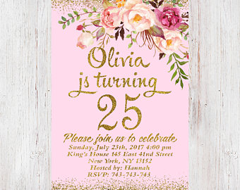 25th birthday invitation ideas ; 25th-birthday-invitations-is-mesmerizing-ideas-which-can-be-applied-into-your-birthday-invitation-3