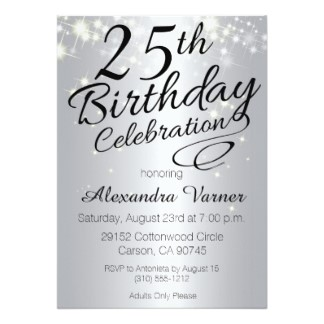 25th birthday party invitation ideas ; Marvellous-25Th-Birthday-Invitations-Which-You-Need-To-Make-Birthday-Party-Invitation-Template