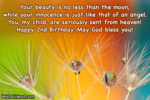 2nd birthday message to daughter ; 564-2nd-birthday-wishes
