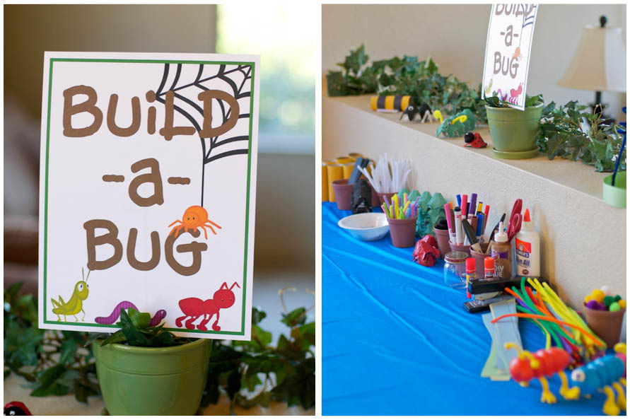 2nd birthday party games ; bug-2nd-birthday-party-decorations-picture-2