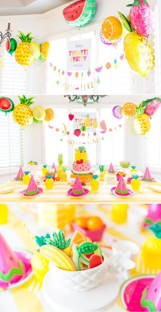 2nd birthday party ideas for girl ; 3bc911821754cefbd694a0e34847530d