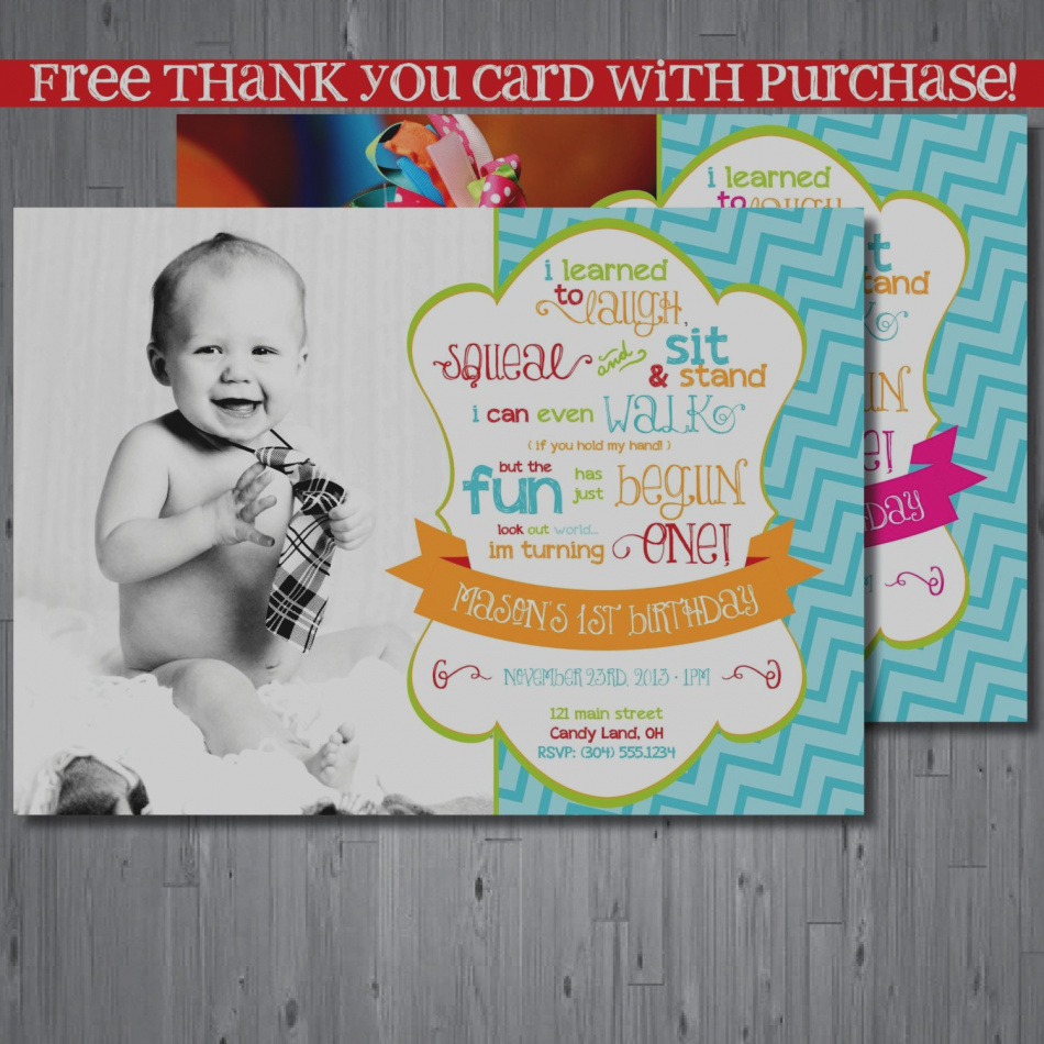 2nd birthday thank you card sayings ; best-1st-birthday-thank-you-card-wording-2nd-cards-free-download-greeting-template