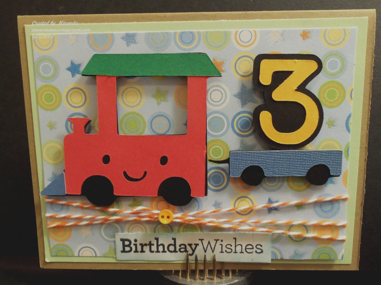 3 Year Old Boy Birthday Card Ideas Images Of