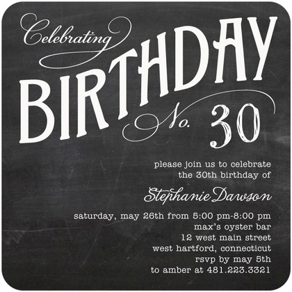 30th birthday invitation sample ; 30th-birthday-invitation-wording-for-invitations-your-Birthday-Invitation-Templates-by-implementing-impressive-motif-concept-17