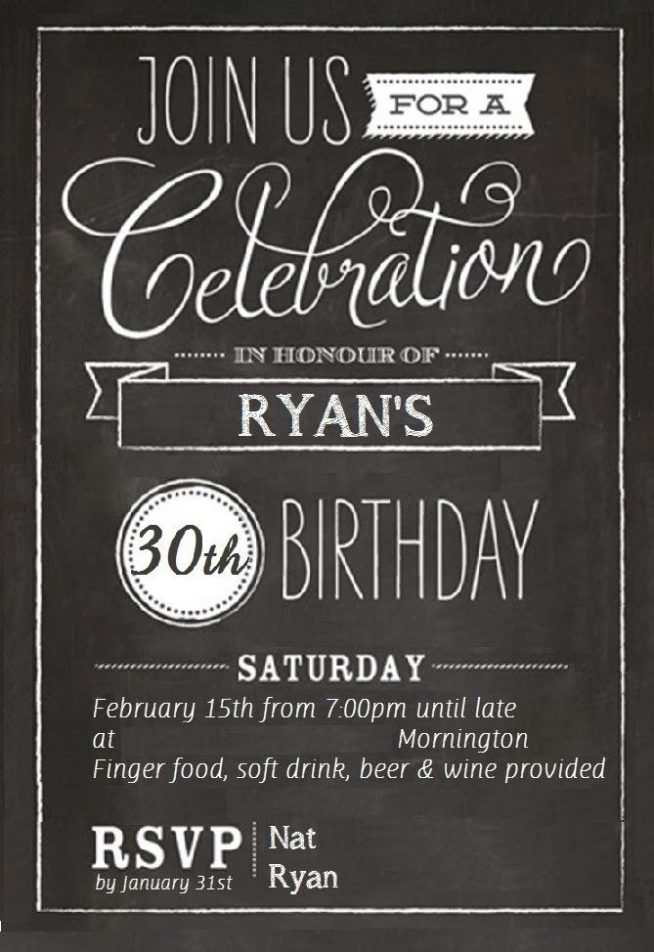30th birthday invitation sample ; 30th-birthday-invitations-for-him-together-with-a-picturesque-view-of-your-Birthday-Invitation-Templates-using-interesting-invitations-13-654x952