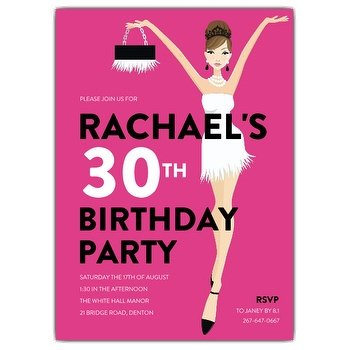 39th birthday party invitation wording ; 614-57-1220-d