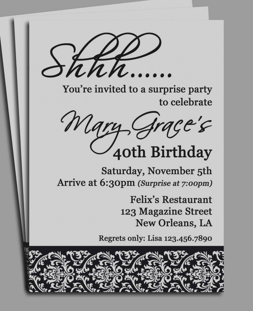 39th birthday party invitation wording ; amazing-39th-birthday-invitation-wording-surprise-party-invitations-cloveranddot-com