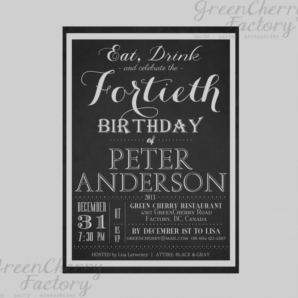 39th birthday party invitation wording ; latest-39th-birthday-invitation-wording-unusual-clever-photos