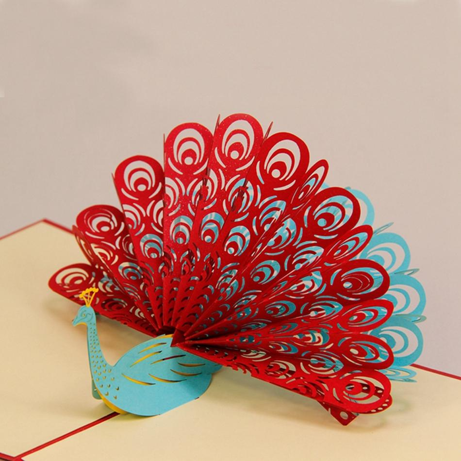 3d greeting card ideas for birthday ; Amazing-Handmade-Greeting-Cards-Kirigami-3D-Pop-up-Card-6PCS-SET-Combination-Sale-Free-Shipping