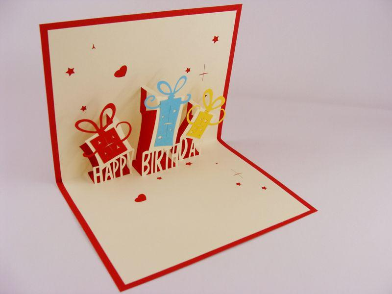 3d greeting card ideas for birthday ; creative-3d-stereoscopic-carved-handmade