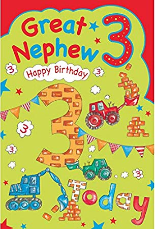 3rd birthday card verses ; 51jr1jK6yWL