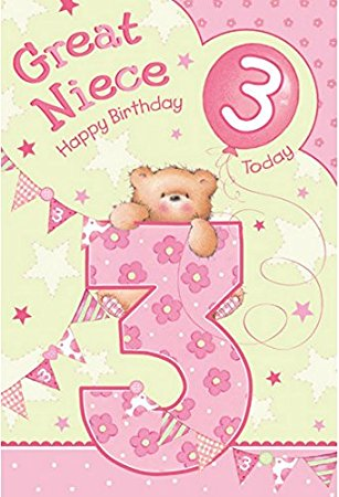 3rd birthday card verses ; 51xgjnQfRcL