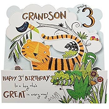 3rd birthday card verses ; grandson-birthday-cards-age-3-awesome-great-grandson-3rd-birthday-card-amazon-fice-products-of-grandson-birthday-cards-age-3