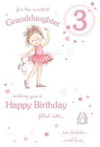 3rd birthday card verses ; s-l300