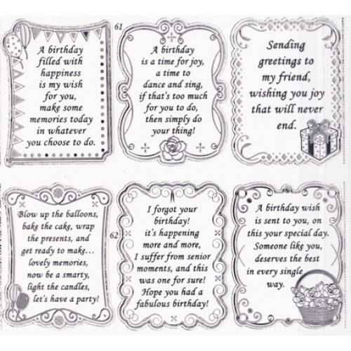 3rd birthday card verses ; special-friend-birthday-card-verses-birthday-sentiments-double-embossed-textsheet-with-birthday
