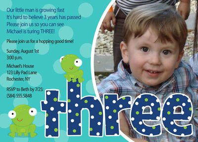 3rd Birthday Party Invitation Wording Boy Invitations In Support