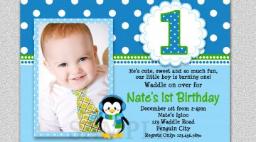 3rd birthday party invitation wording boy ; lovely_3rd_birthday_party_invitation_wording_with_photo_quote_blue_hd_modern_template_6-360x200