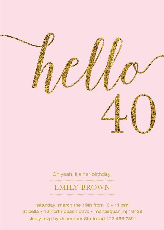 40 year old birthday invitation ideas ; 40th-birthday-invitation-ideas-and-enchanting-invitations-fitting-aimed-at-giving-pleasure-to-your-Birthday-Invitation-Templates-6