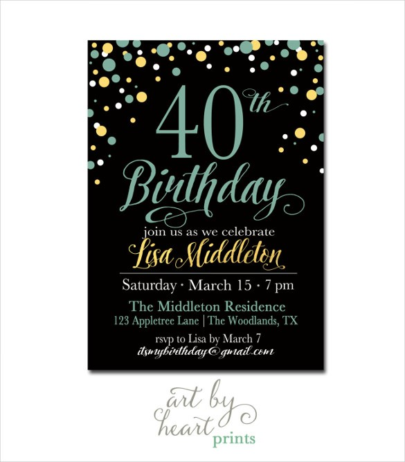 40 year old birthday invitation ideas ; Fascinating-40Th-Birthday-Invitation-Ideas-As-Prepossessing-Ideas-Custom-Birthday-Invitations