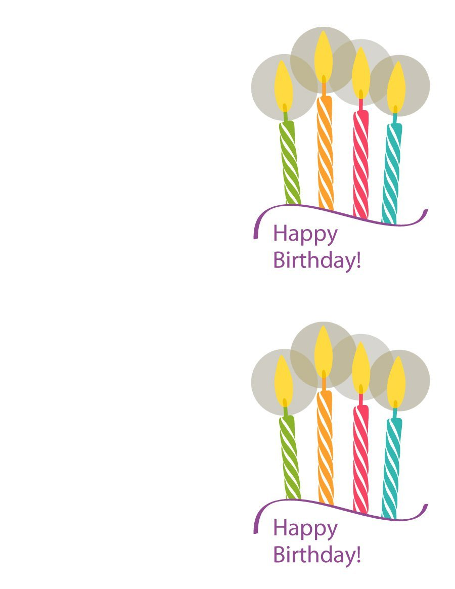40th birthday card template free ; birthday-card-template-21