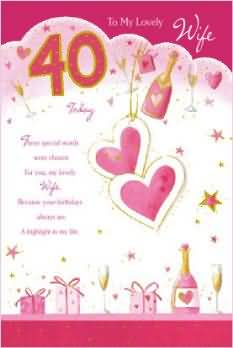 40th birthday message for wife ; superb-40th-birthday-e-card-birthday-wishes-for-my-wife