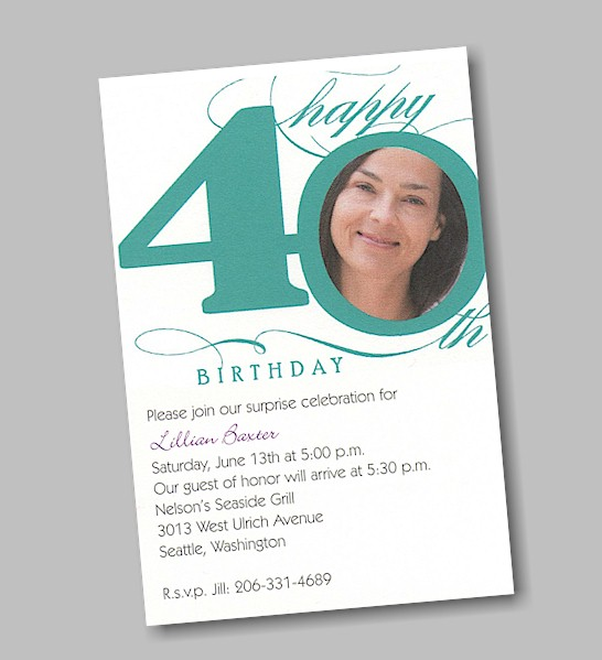40th birthday pool party invitation wording ; Happy-40th-Birthday-Party-Invitation