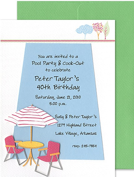 40th birthday pool party invitation wording ; Incredible-Retirement-Party-Invitation-Wording-As-Online-Party-Invitations