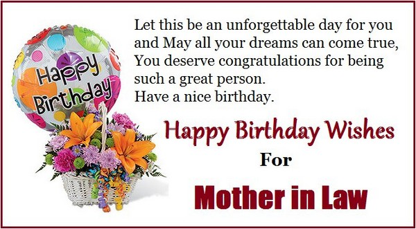 47th birthday poem ; birthday-sms-for-mother-in-law